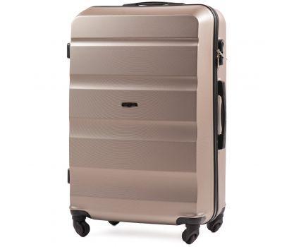 Дорожный чемодан Wings AT01 большой шампань