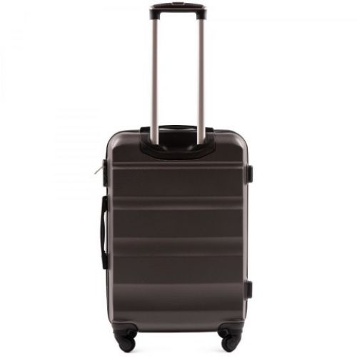 Дорожный чемодан Wings AT01 средний серый