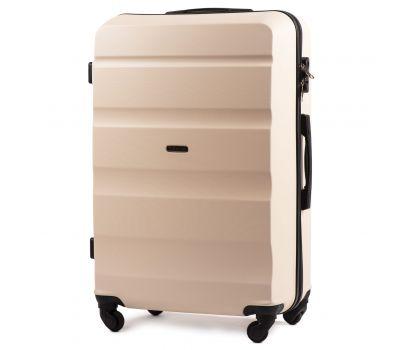 Дорожный чемодан Wings AT01 большой ванильный