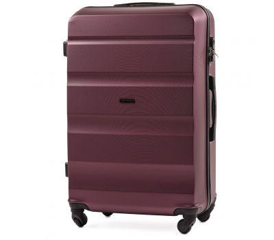 Дорожный чемодан Wings AT01 большой бордовый