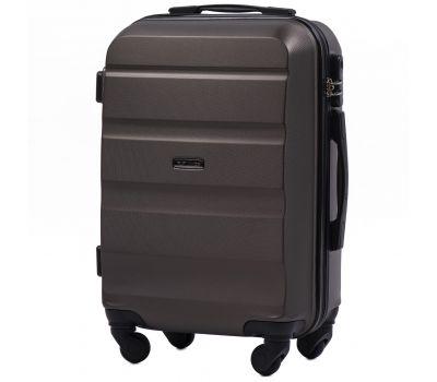 Дорожный чемодан Wings AT01 маленький кофейный