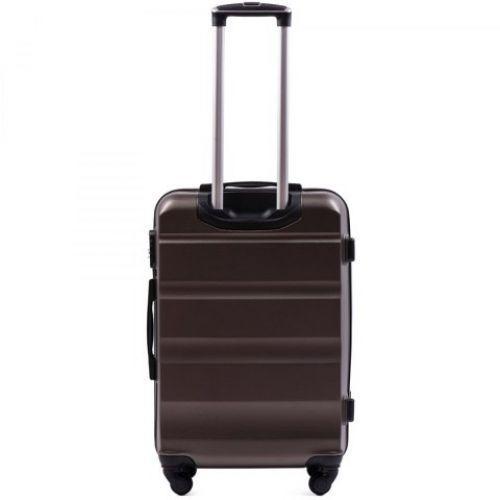 Дорожный чемодан Wings AT01 средний кофейный