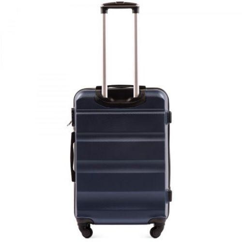 Дорожный чемодан Wings AT01 большой темно-синий