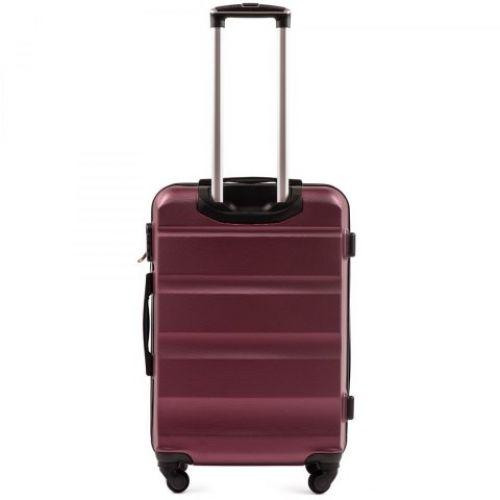 Дорожный чемодан Wings AT01 средний бордовый