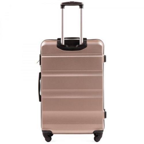 Дорожный чемодан Wings AT01 средний шампань