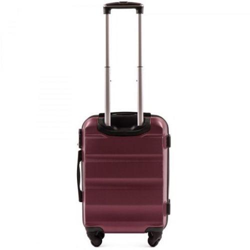 Дорожный чемодан Wings AT01 маленький бордовый