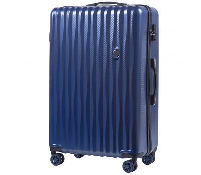 Поликарбонатный чемодан Wings Spotted 5223 большой middle blue
