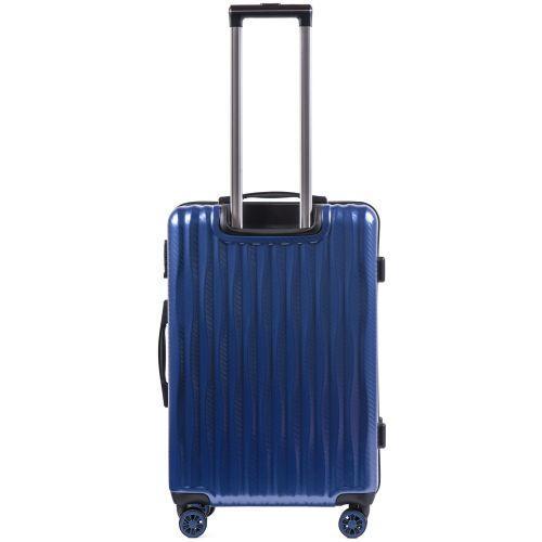 Поликарбонатный чемодан Wings Spotted 5223 средний синий