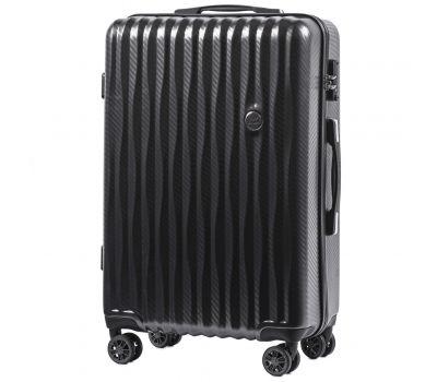 Поликарбонатный чемодан Wings Spotted 5223 средний графит