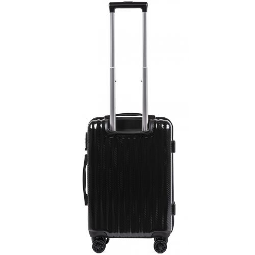 Поликарбонатный чемодан Wings Spotted 5223 маленький черный