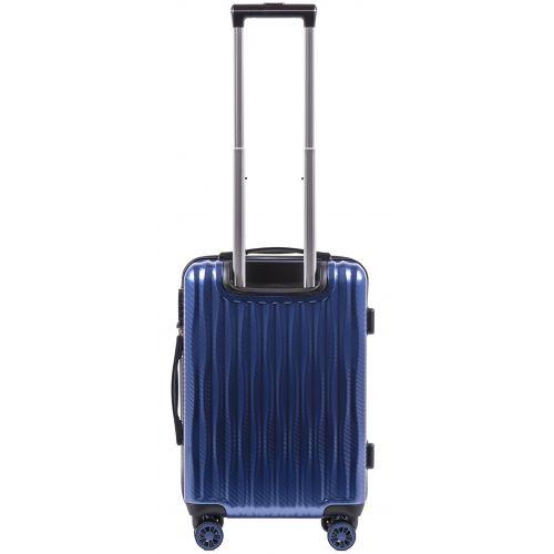 Поликарбонатный чемодан Wings Spotted 5223 маленький middle blue