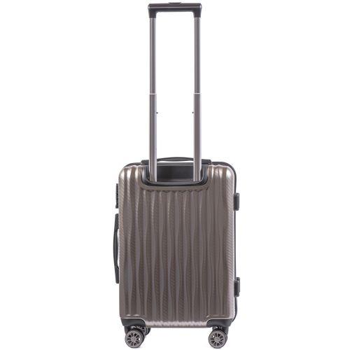 Поликарбонатный чемодан Wings Spotted 5223 маленький бронзовый