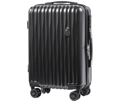 Поликарбонатный чемодан Wings Spotted 5223 маленький графит