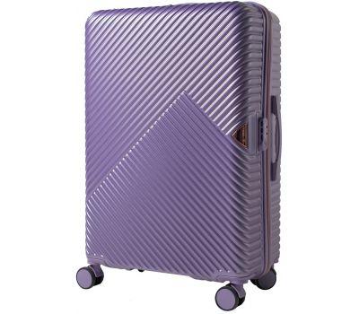 Дорожный чемодан на колесах Wings WN01 большой L фиолетовый