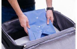 Отправляемся в дорогу: как правильно складывать костюм в чемодан